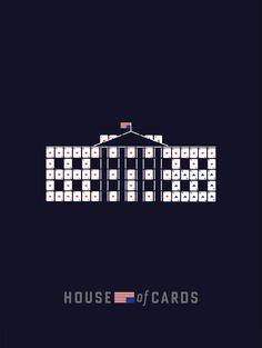 Illustration - Minimalist poster House of Cards