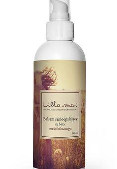 Balsam samoopalający stworzony na bazie masła kakaowego. Wspaniale nawilża i wygładza skórę, nadaje jej odcień naturalnej opalenizny. Powstał w polskiej manufakturze LillaMai.
