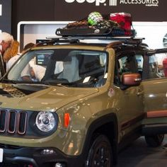 "Jeep Renegade Trailhawk ""Camp"" concept."