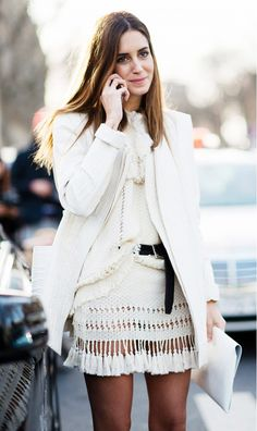 Try belting your top half over and half under for a street style–inspired look that's still approachable.