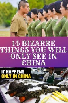 14 Bizarre Things You Will Only See in China – Viral pins