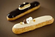 The Dubaï and the Religieuse Eclair by Fauchon