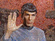In Memoriam – ein Mosaik für Spock / © @William Shattner