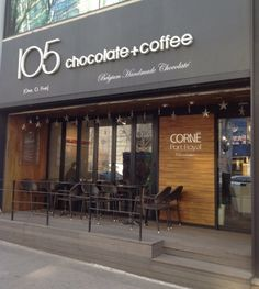 105 Chocolate + Coffee, Itaewon.