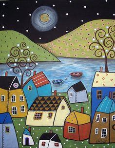SeasideTown by Karla Gerard