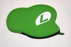 Luigi's hat 3DS pouch