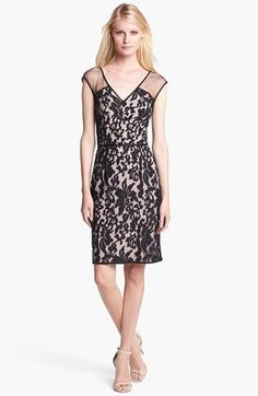 Maggy London Lace Sheath Dress available at #Nordstrom