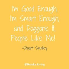 A throwback Thursday for y'all with one of my favorite SNL skits! But did you know that your brain is altered when you tear yourself down with negative thoughts? Craziness. While it may be funny - it's so true. You are good enough. You are smart enough. A
