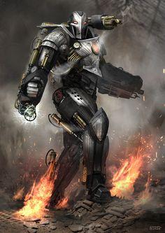 """emporioefikz: """"Steampunk Warmachine by Mac-tire """""""