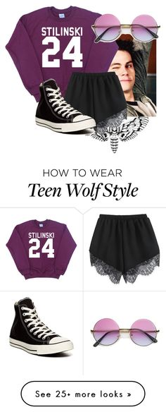 """""""Untitled #349"""" by kaliann1222 on Polyvore featuring moda ve Converse"""