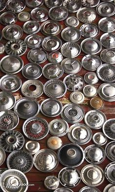 many hubcaps
