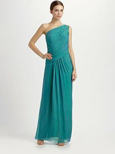 95a4f704bd446b There s another color I like better One Shoulder Gown
