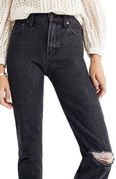 f86c61d7 MADEWELL Designer The Perfect Vintage Ripped Knee Jeans Ripped Knee Jeans,  Ripped Knees, Denim