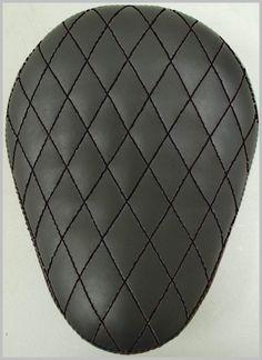 LaRosa 13  Eliminator Black Diamond Tuk Bobber Chopper Solo Sitz Sitzbank Vinyl