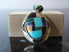 Vintage Silver South Western Style Colorful by FourSailAccessories, $38.00