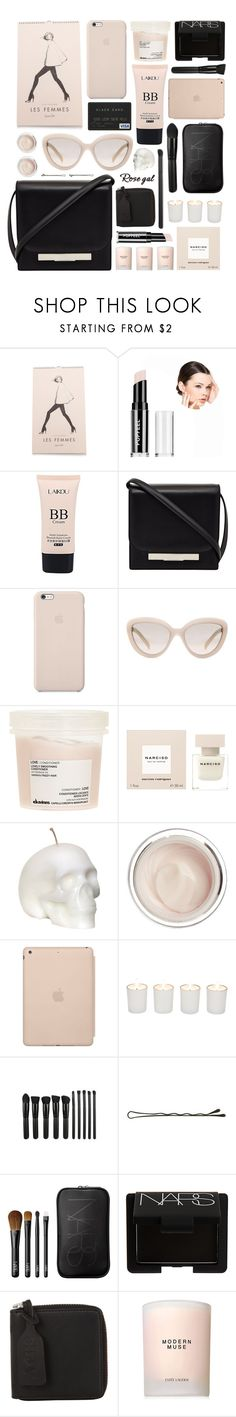 """""""Rosegal"""" by ruska-10 ❤ liked on Polyvore featuring beauty, Rifle Paper Co, The Row, Black Apple, Prada, Davines, Narciso Rodriguez, Dr. Sebagh, Witchery and NARS Cosmetics"""