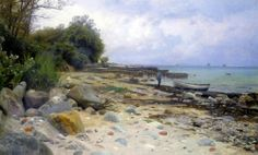Looking Out to Sea by Peder Mork Monsted