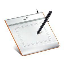 Informatica - Genius EasyPen i405X – Tableta gráfica (Bolígrafo incluido, Nivel de presión: 1024, Placa incluida, Precisión del bolígrafo 0.25 mm) -  http://tienda.casuarios.com/genius-easypen-i405x-tableta-grafica-boligrafo-incluido-nivel-de-presion-1024-placa-incluida-precision-del-boligrafo-0-25-mm-plateado/