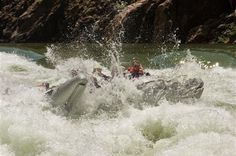 An out-of-this-world adventure, rafting the Colorado River through the Grand Canyon ranks up there with a safari to the Serengeti Plain or a trek through the Himalayas. The experience is definitely unique. In eight memorable days, you will cover approximately 277 river miles, negotiating nearly 200 exciting white water rapids in safety and first-class comfort. We travel the river differently than Major John Wesley Powell and his small band of explorers did in 1869, but just like Powell and… Colorado River Rafting, Things To Do, How To Memorize Things, Wild Waters, John Wesley, State Of Arizona, Colorado Homes, Us Travel, Trek