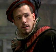 Ben Affleck in Shakespeare In Love Wyrd Sisters, Shakespeare In Love, Academy Award Winners, True Detective, Renaissance Men, Ben Affleck, Period Dramas, Latest Movies, Male Beauty