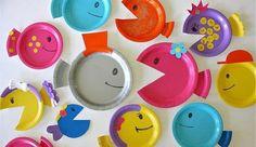 Piatti in plastica riciclati in modo creativo