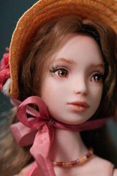 Porcelain BJD Ball Jointed Doll OOAK artist doll Higher Delights (Kelly Salchli)