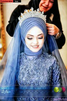 Girlz Dpz, Bridal Hijab, Cute Beauty, Stylish, Fashion, Moda, Wedding Veils, Fashion Styles, Fashion Illustrations
