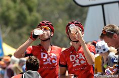 #TourDownUnder photos; #Stage4: Glenelg → Mt Barker, 145 km - Now there's a team in sync