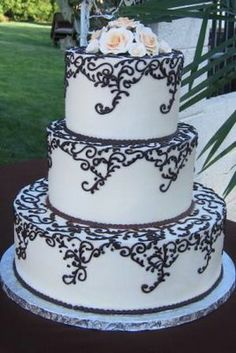 Black & White Theme Ideas | Weddings, Style and Decor, Beauty and Attire, Planning |