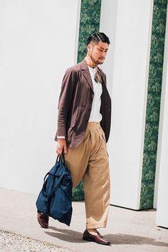 Pitti Moda | Street looks au Pitti Uomo printemps-été 2017 à...