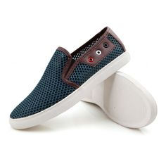 42.88$  Watch now - http://alijcs.worldwells.pw/go.php?t=32714842024 - Plus Size 38~49 men brand shoes fashion solid silp-on air mesh breathable summer flat shoes