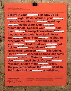 #Design #Advice