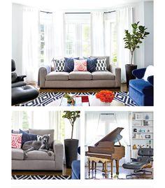 Lauren L.'s Elegant and Enchanting Living Room