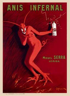 Title: Anis Infernal    Artist: Cappiello    Circa: 1905    Origin: France