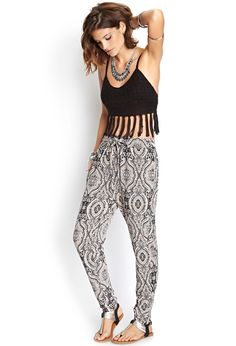#Print #Pants #CropTop #Tassel #Fringe #Paisley #Summer #Lookbook #Model #Style #Fashion #BiographyInspiration