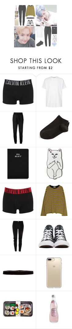 """& — "" Caught in a lie. Find the me that was innocent. I can't free myself from this lie, give me back my laughter. "" — &"" by heathxns ❤ liked on Polyvore featuring beauty, Calvin Klein Underwear, Givenchy, Love Moschino, Wolford, RIPNDIP, River Island, Converse, Steve Madden and Speck"