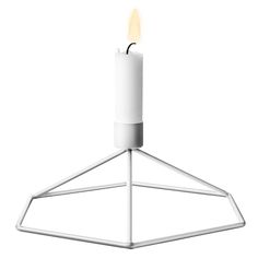 POV candleholder by Menu - white