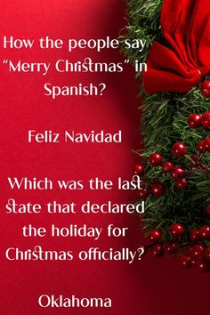 You will definitely enjoy reading the Christmas trivia questions along with the answers. #triviaquestions #christmastrivia #christmastriviaquiz #triviaquiz #easychristmastrivia. Easy Christmas Trivia, Christmas Trivia Questions, Christmas Shows, Father Christmas, Christmas Movies, Christmas Carol, Christmas Lights, Christmas Holidays, Christmas Wreaths