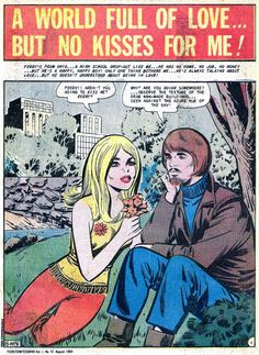 No kisses for me!   Teen Confessions #57 (1969)