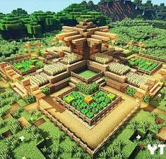Minecraft Farm, Minecraft Cottage, Minecraft Mansion, Cute Minecraft Houses, Minecraft House Tutorials, Minecraft Modern, Minecraft Plans, Minecraft House Designs, Amazing Minecraft
