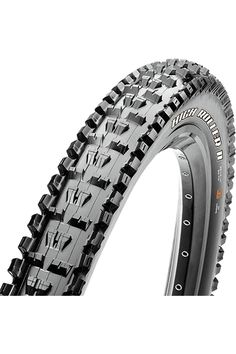An open and aggressive tread design gives the High Roller II excellent soil penetration and mudclearing ability.