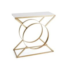 Furniture with strong focal points and a bold shape can double as a sculpture piece for your house. Channel that inner art collector in you and go for the Mimi Marble Console.