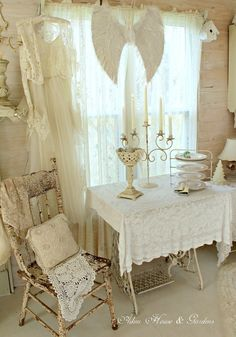 Love the Singer sewing tables...