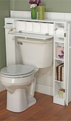 Bathroom Space Saver // clever storage design solution | product design | furniture design