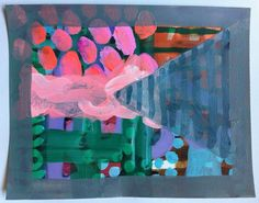 Judith Bryony Farr: acrylic on paper | Flickr - Photo Sharing!