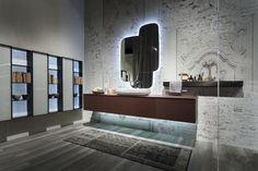 Enea: linee classiche e contemporanee si incontrano in una collezione che predilige materiali moderni ed eleganti come il vetro extrachiaro sabbiato, la resina e la porcellana laminata.  http://www.edonedesign.it/prodotti/design-plus/enea