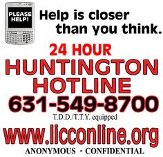 Huntington 24 Hour Hotline