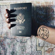 INSTAGRAM Daniguillen Vsco Travel Passport World Viajar Tumblr