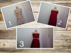 Leuke jurk maken met plooien en strik