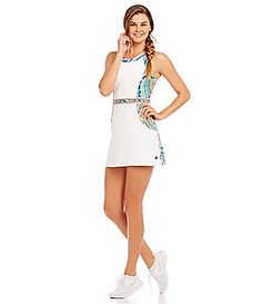 Trina Turk Recreation Scallop Shell Tennis Dress #Dillards